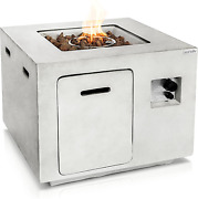 Outdoor Propane Fire Pit Table - Csa/etl Certified Safe 40,000btu Pulse Ignition