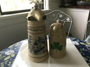 Vintage Webco Schultz And Dooley Beer Steins Made For Fx Matt Brewing Co.