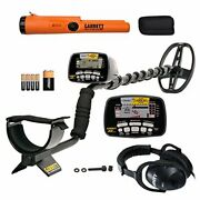 At Gold Waterproof Metal Detector With Headphones And Propointer At Pinpointer