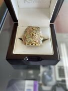Black Hills Gold 10/12k Band Size 16.2 Grams Excellent Condition See Pictures