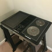 Jenn-air Downdraft Electric Cooktop Black With Griddle C236b