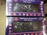 Rmt/ready Made Trains Ore Cars 2 W/load Prr