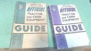 Vintage--1965 And 1967 -official Tractor And Farm Equipment Guide Books-