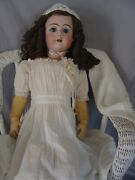 Large Antique German Doll 32 Heinrich Handwerck Dep Ball Jointed Compo Body