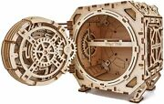 Wood Trick Geared Safesafe 3d Wood Puzzle With Dial Key