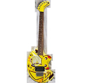Fernandes Zo-3 Pikachu Pokemon Center Limited Electric Guitar Shipped From Japan