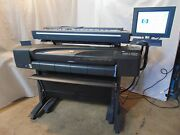 Hp Designjet 800ps C7780b 42 Wide Large Format Plotter Printer And 820mfp S6093