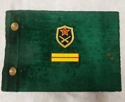 Military Army Photo Album Dmb Cold War Red Army Vintage Art Ussr Soviet Russia