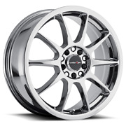 16 X7 Wheels 4 Rims For 4x100 Chevy Spark 2013 2014 2015 2016 2017 2018 2019