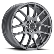 17 X7.5 Wheels 4 Rims For 4x100 Chevy Spark 2013 2014 2015 2016 2017 2018 2019