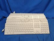 Lot Of 9 Apple A1243 Slim Usb Wired Aluminum Keyboard 5836