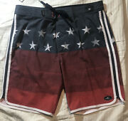 """Nwt O'neill Mens Board Surf Shorts Swimsuit Size 33 Outseam 19"""" Great Colors"""