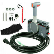 For Yamaha Outboard Side Remote Control Box +7 Pin Cable Pull Throttle Us