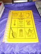 Old Family Recipes Many From The Civil War Rare Vintage Ring Bound Cookbook