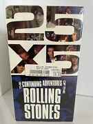 The Rolling Stones - 25 X 5vhs Collectors Dream Factory Sealed Vintage Classic