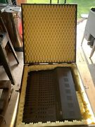 Peavey Xr 1600 C Powered Mixing Board 16 Channel Vintage W Wooden Carry Case Box