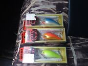 3 Rapala Ss-5 Vintage Salmon Special Fat Rap Discontinued Collection Box New