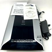 Canon Canoscan 8800f Flatbed Scanner W/hdmi/a/c Power/photoshop Elements Tested