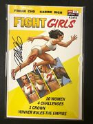 Fight Girls 1 Signed By Frank Cho