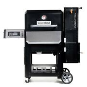 Masterbuilt Gravity Series 800 Digital Charcoal Griddle + Grill+ Smoker In Black