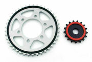 Front And Rear Sprocket For Kawasaki Zx10r 1000 2004-2005 17t 41t 525 T08