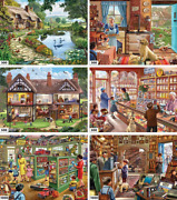 White Mountain Puzzles 6-in-1 Steve Crisp Collection - 3600 Piece Jigsaw...