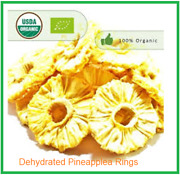 Organic Dried Pineapple Rings Pure And Natural Forest Garden Of Bio Breeze