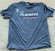 Used Team Issued Colorado Avalanche Player Fanatics 2021 Playoff Shirt Gilbert