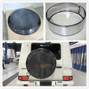 For Mercedes Benz G Class W463 W464 Tire Chrome Ring And Spare Wheel Cover Set