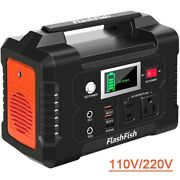 40800mah Portable Solar Power Station Outdoor Energy 200w Power Supply Battery