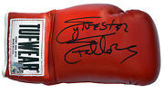 Sylvester Stallone Rocky Balboa Autographed Tuf Wear Red Boxing Glove Asi Proof