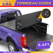 5ft Hard Fold Tonneau Cover For 2005-2015 Toyota Tacoma Truck Bed Tri-fold Solid