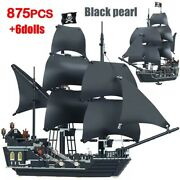 4184 Pirates Of The Caribbean The Black Pearl Ship Kids Toys Gift Lego