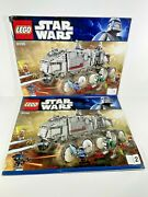 Lego Instruction Books 1 And 2 8098 Star Wars Clone Turbo Tank Manual Only