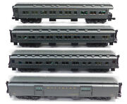 Used Lionel 6-15588 Southern Heavyweight Passenger Car 4-pack W/box