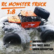 18 42cm Rc Car And Boat Truck 2.4g Radio Control 4wd Off-road Electric Vehicle
