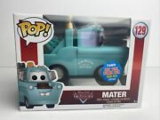 Funko Pop Disney Cars 129 Mater 2015 Nycc 1500 Pcs. Le Authentic W/protector
