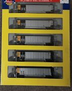 5 Pack Athearn N Scale Bethgon Coalporter Aepx  Ath10461 American Electric 2