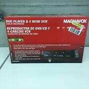 Magnavox Dvd Player And 4 Head Line-in Recording Factory Sealed 0053818570685