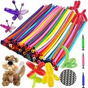 Balloon Animals Kit Twisting Balloons 100pcs With Unbreakable Air Pump – Ootsr