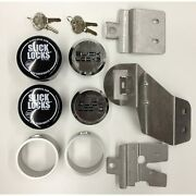Slick Locks Chevy/gmc Sliding Door Kit Complete With Spinners Weather Cove…