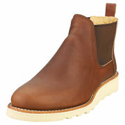 Red Wing Classic Chelsea Femme Brown Cuir Bottes Chelsea