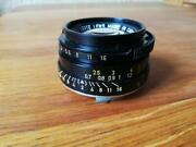 Objectif Leitz Summicron-m 12 / 35 / Made In Canada