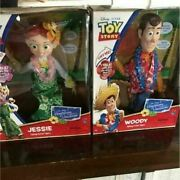 Jessie Woody Set Talking Figure Hawaiian Vacation Edition Toy Story From Japan