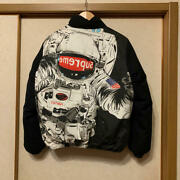 Supreme Astronaut Puffy Down Jacket Black Size S 100 Authentic Preowned Japan