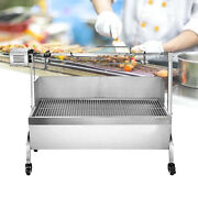 88lbs Barbecue Charcoal Grill Stove Shish Kabob Stainless Steel Bbq Garden Patio