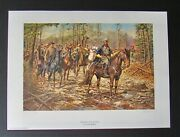 Don Troiani - Before The Storm - Collectible Civil War Print - Mint