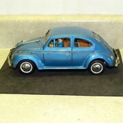 Vintage Japan Tin Volkswagen Car Bump N Go, Battery Operated