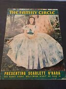 Gone With The Wind 1st Gwtw Cover Family Circle Vivien Leigh Scarlett 6/39 Rare