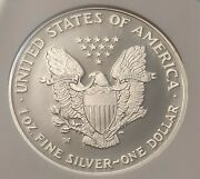 2007-w American Silver Eagle Proof - Ngc Pf70 Ucam